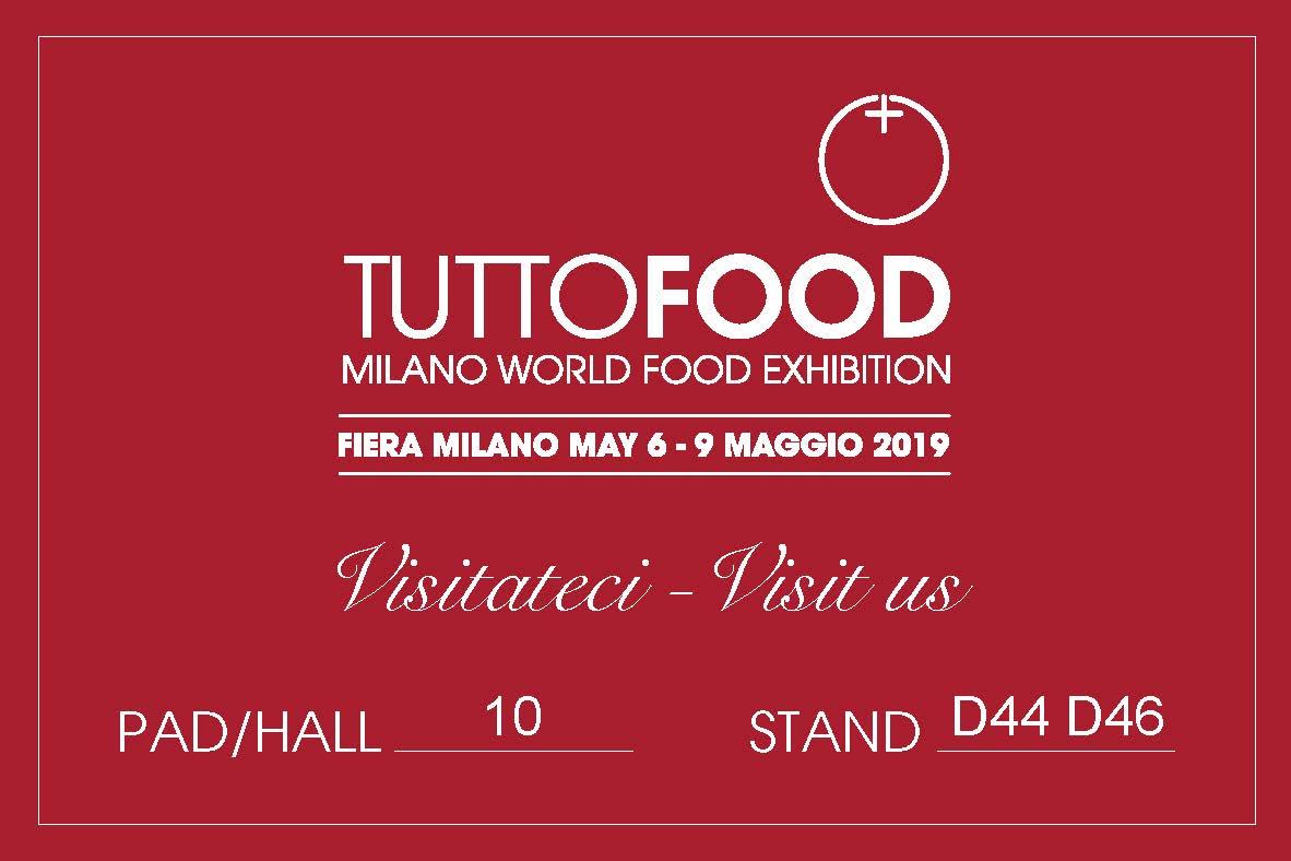 Logo TUTTOFOOD editabile rosso